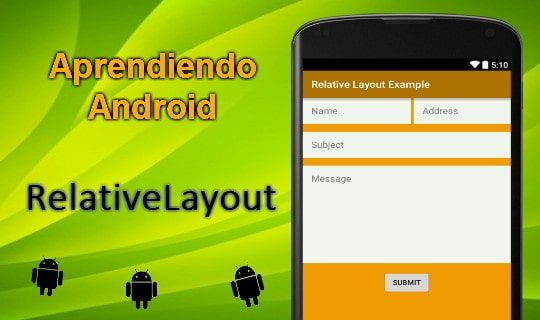 RelativeLayout – Aprendiendo Android