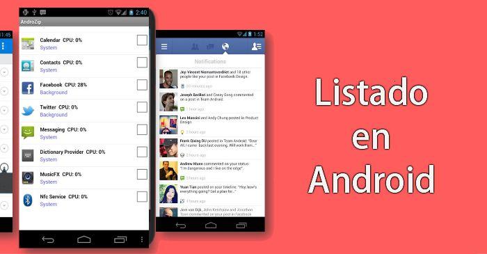 Cómo crear un listado en Android – ListView