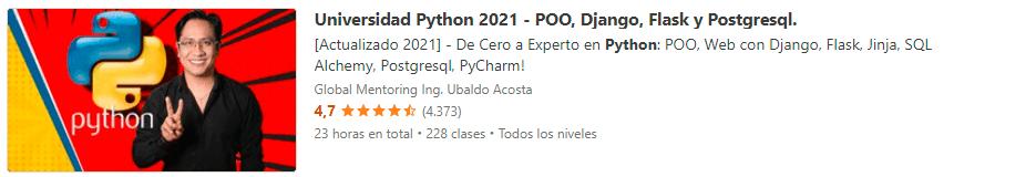 Universidad Python