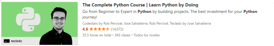 Complete Python Course