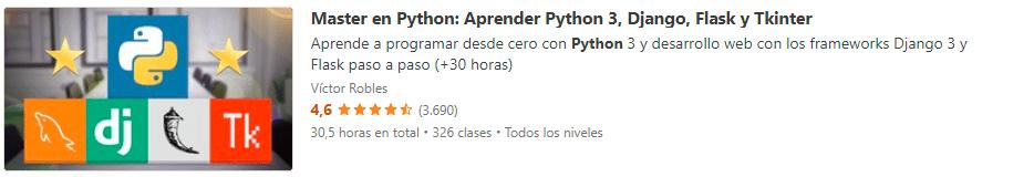 Master Python 3