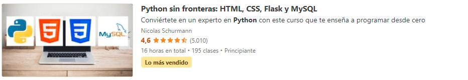 Python sin Fronteras