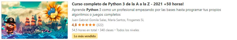 Python 3 de la A a la Z