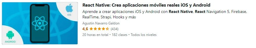 Curso React Native - Agustin Navarro